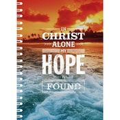 Зошит-блокнот «In Christ alone my hope is found»